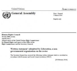 Yemen Statement - 03-03-2014